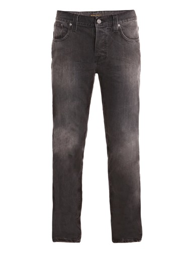 Nudie Black distressed jeans
