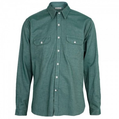 Oliver Spencer Green Shirt
