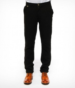 Penfield Black Tweed Trousers