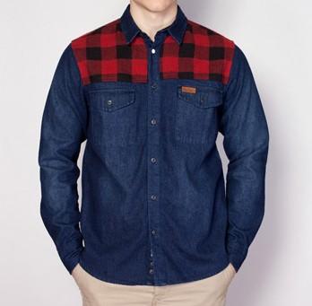 Penfield Denim Lumberjack Shirt