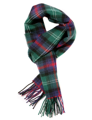 Ingles Buchan Sutherland Check Scarf