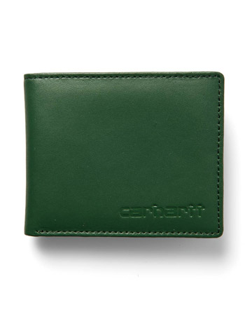 Carhartt Green Leather Wallet