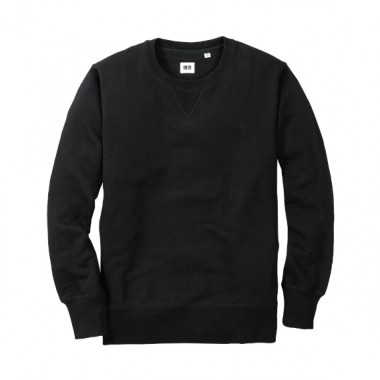 Uniqlo Mens Black Sweater