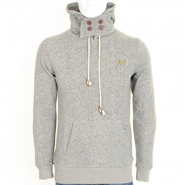 Voi Grey Hooded Top