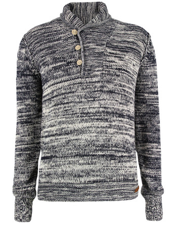 Diesel Navy Marble Jumper