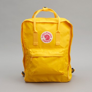 Fjallraven Yellow Bag