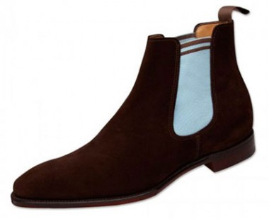 Fred Perry Brown Chelsea Boots