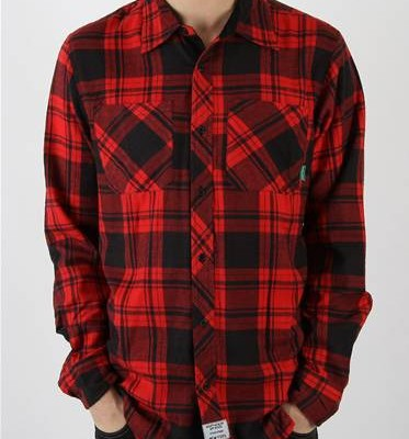 Mighty Healthy Checked Lumberjack Shirt