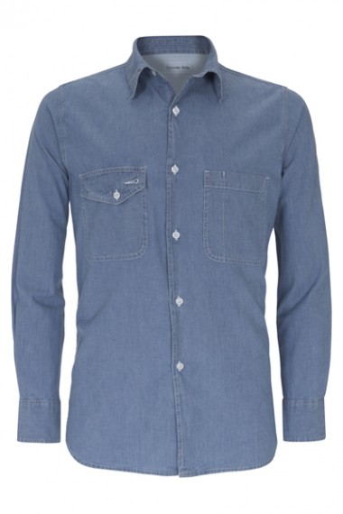 Universal Works Light Denim Shirt