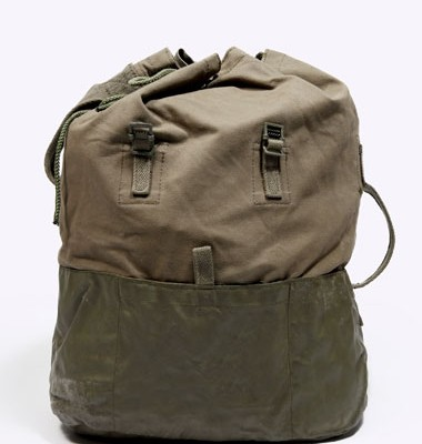 Urban Outfitters Vintage Army Duffel Bag