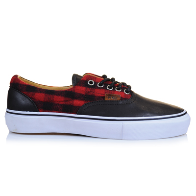 Vans Vault Flannel & Leather Shoes