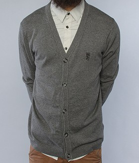 WeSc Dark Grey Cardigan