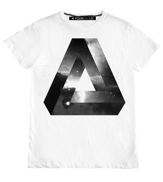 YourEyeLie Triangle T Shirt
