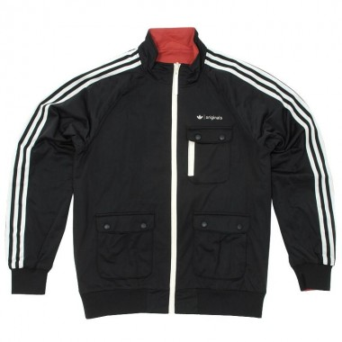 Adidas Tech Pack Black Tracksuit Top
