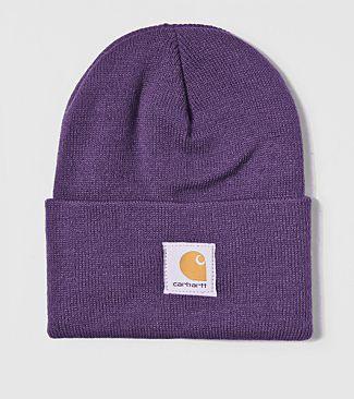 Carhartt purple beanie