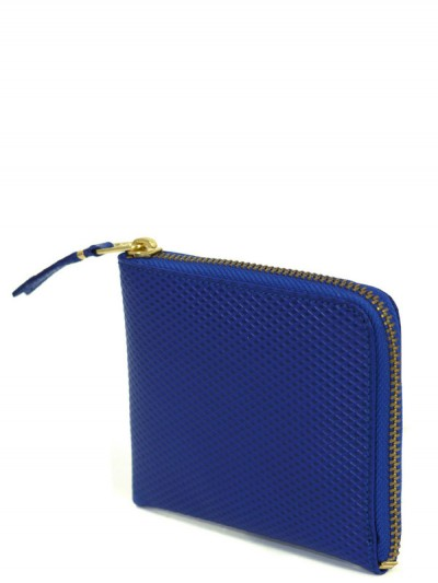 Commes Des Garcons Blue Waffle Wallet