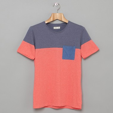 Folk Block Colour T Shirt