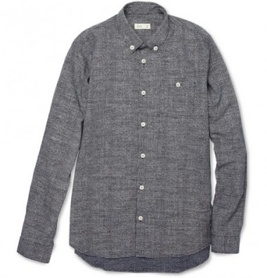 Folk Printed Dot Shirt