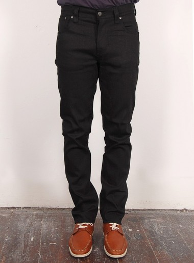 Nudie Grim Tim Black Jeans