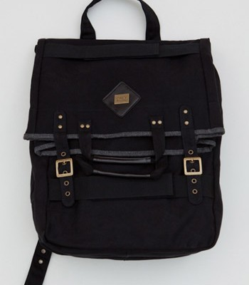 Obey Black Classic Backpack / Tote