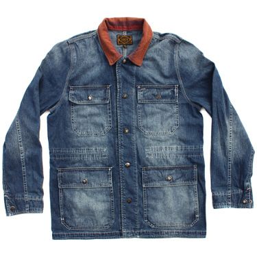 Obey Denim Blue Jacket