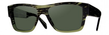 Oliver Peoples Altman Green Sunglasses
