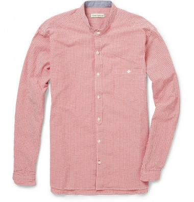Oliver Spencer Grandad Collar Shirt