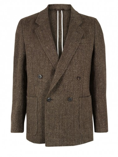 Our Legacy Brown Tweed Blazer