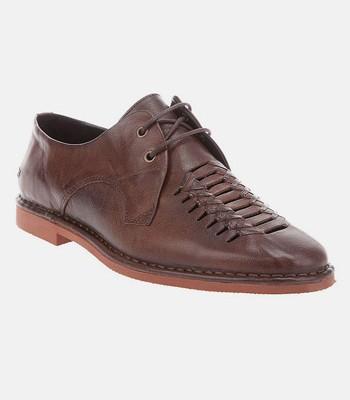 Swear Waffle Leather Shoes