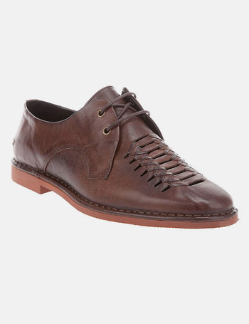 Swear Waffle Leather Shoes