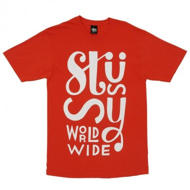 Stussy X Parra World Wide T Shirt