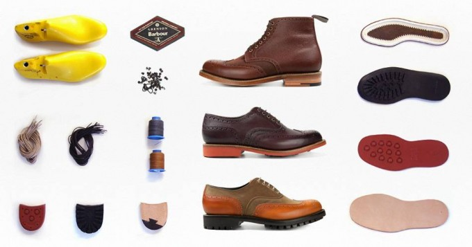 Barbour x Grenson Collaboration