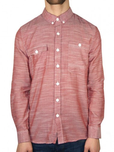 Bellfield Red Work Shirt