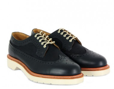 Dr Martens Mens Alfred Navy Shoes
