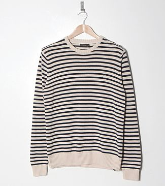 Farah Vintage Easton Stripe Jumper