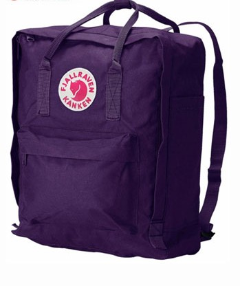 Fjallraven Purple Backpack