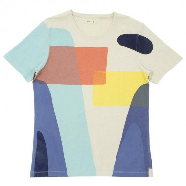 Folk Block Print T Shirt