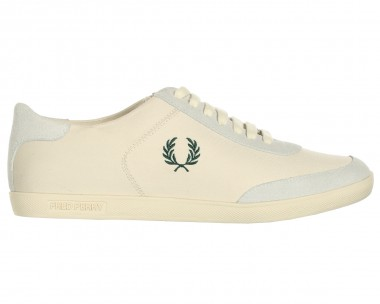 Fred Perry Ecru Trainers