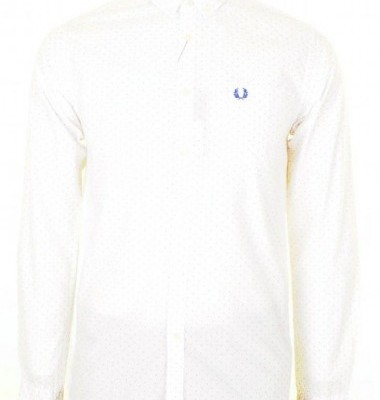 Fred Perry Pin Dot Shirt