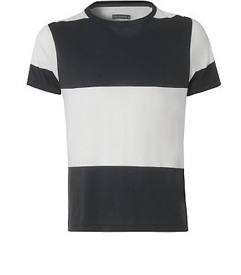 French Connection Black and White Tee