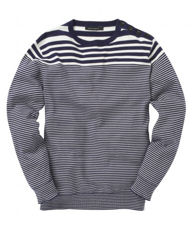 French Connection Salton Stripe Jumper