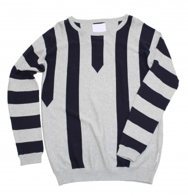 Humor Dirk Black and Grey Knit