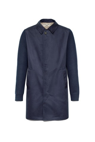 MarniHM Long Navy Coat
