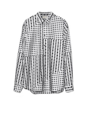 Marni at H&M patterned shirt
