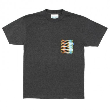 Tantum Aztec pocket T Shirt