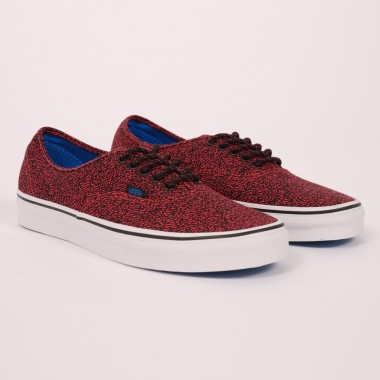 Vans Red Speckled Trainers