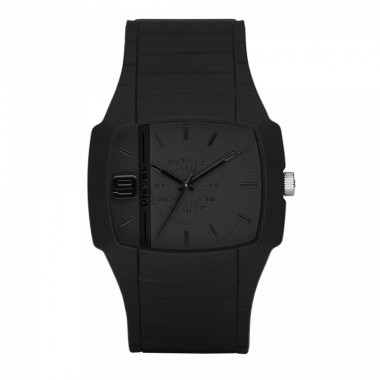 Diesel DSL Blacksilicone watch