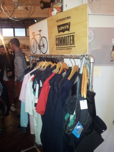 Levis Commuter Event 12th April 2012