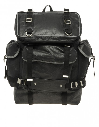 ASOS Black Nylon Backpack