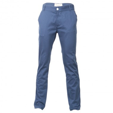Bellfield Blue Chino Trousers